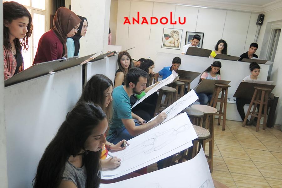 Anadolu Güzel Sanatlar Eğitim Kurumları Çukurovada