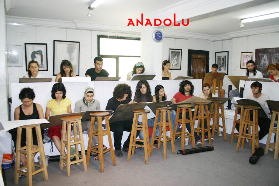 Çukurovada Anadolu Guzel Sanatlar Egitim Kurumlari