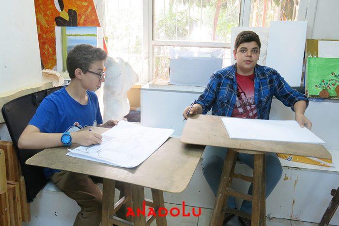 Lise Öğrencilere Resim Kursları Çukurovada