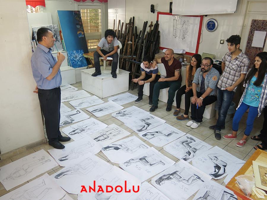 Anadolu Güzel Sanatlarda Desen Sınavları Çukurovada