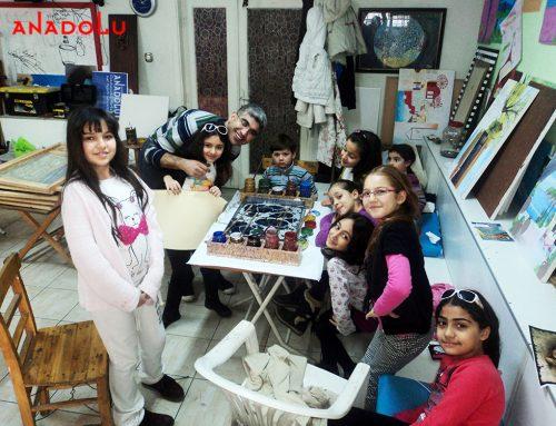 Kayserideki Çocuklar ve Çizim Eğitimlerimiz