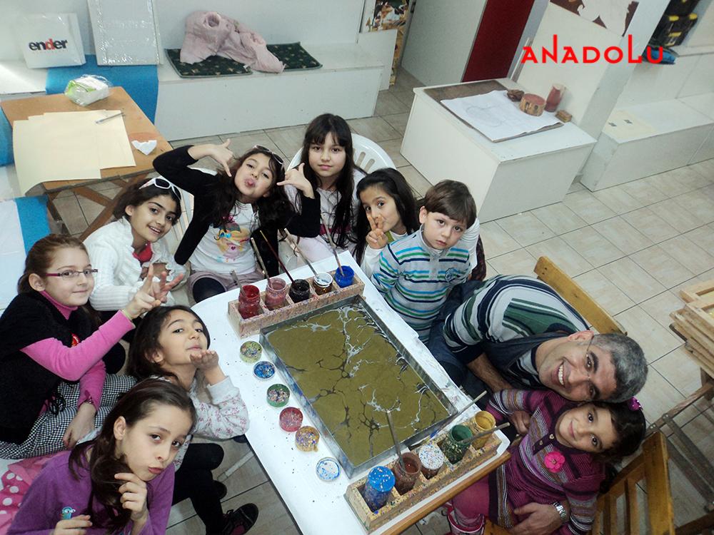 Çocuklar İçin Sanat Eğitimi Çukurovada