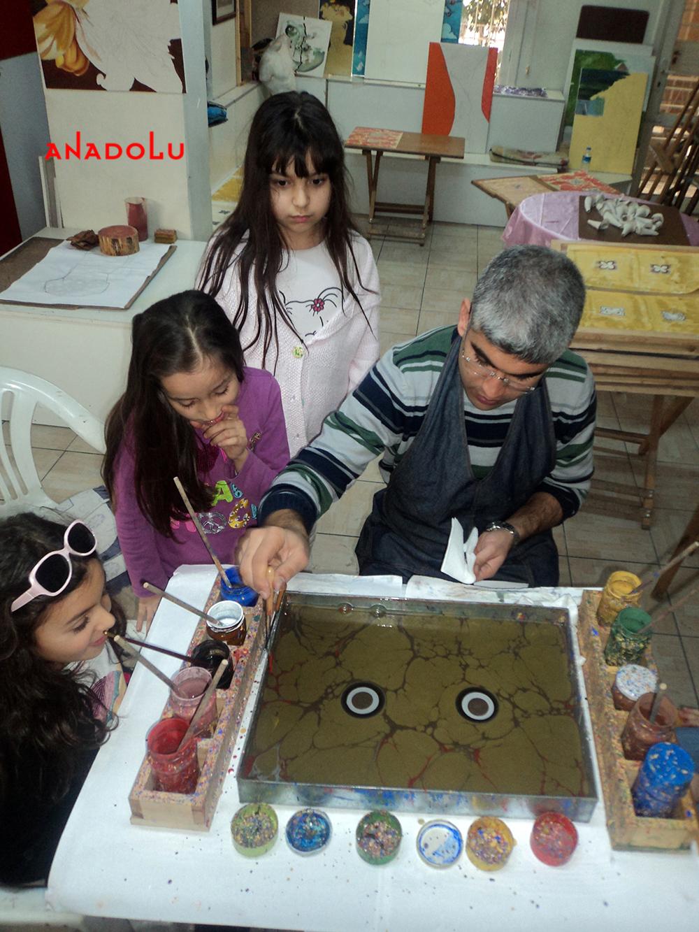 Kayseri Çocuklar İçin Özel Ebru Eğitimleri