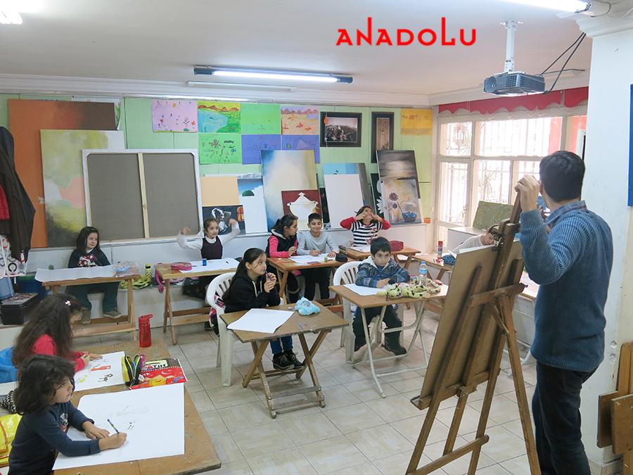 Çocuklarla Sanat Dersleri Çukurovada