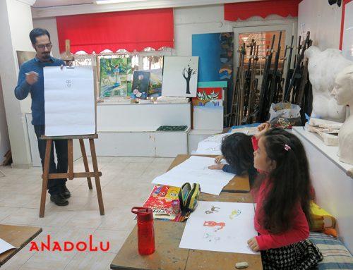 Kayserideki Çocuk Çizimlerinde Büyük Ressam İzleri