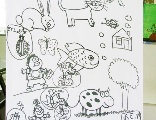 Kayserideki Hareketli Hayvan Çizim Örnekleri
