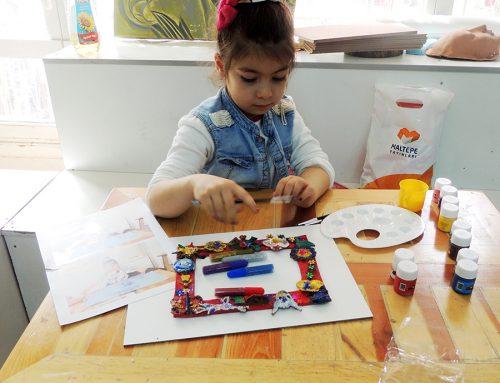 Kayserideki Çocuk Çizimlerinde Ressam İzleri