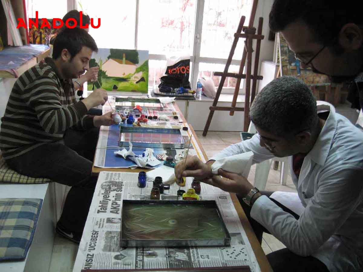 Ebru Kursunda Çalışanlar Çukurovada