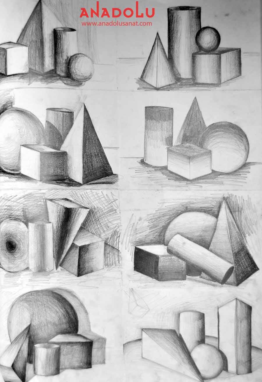 Güzel Sanatlar Fakülteleri İçin İmgesel Çizimler Çukurovada