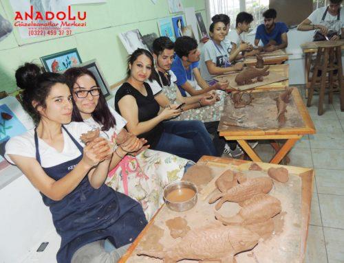 Kayserideki Heykel Dersleri Eğitim Programı
