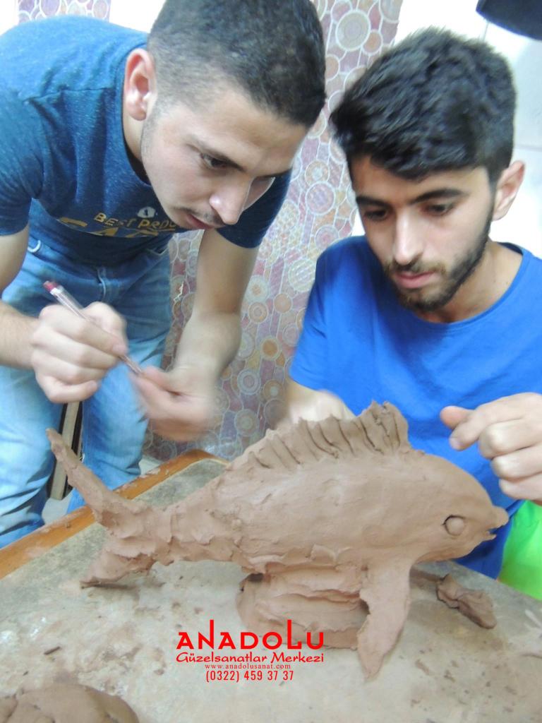 Kilden Balık Modelleme Dersi Çukurovada