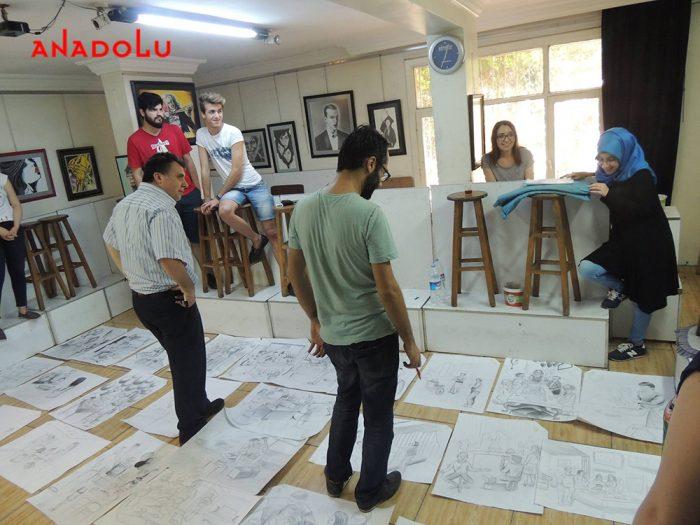 Üniversiteye Hazırlık Çizimler Çukurovada