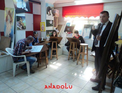 Kayserideki GSF ' ye Hazırlık Sanat Eğitim Derslerimiz