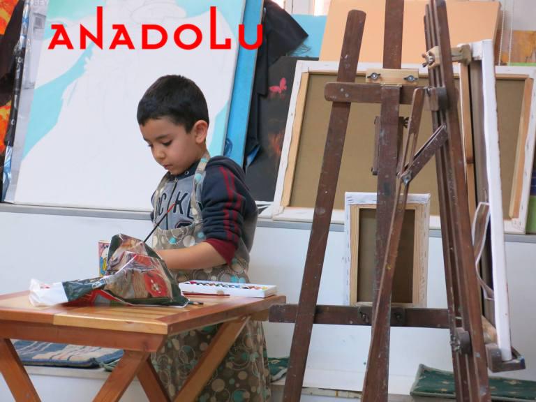 Çocuklar İçin Sanat Atölyeleri Çukurovada