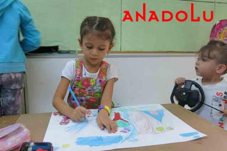 Anadolu Resim Atölyesinde Çocuk Kursları Çukurovada