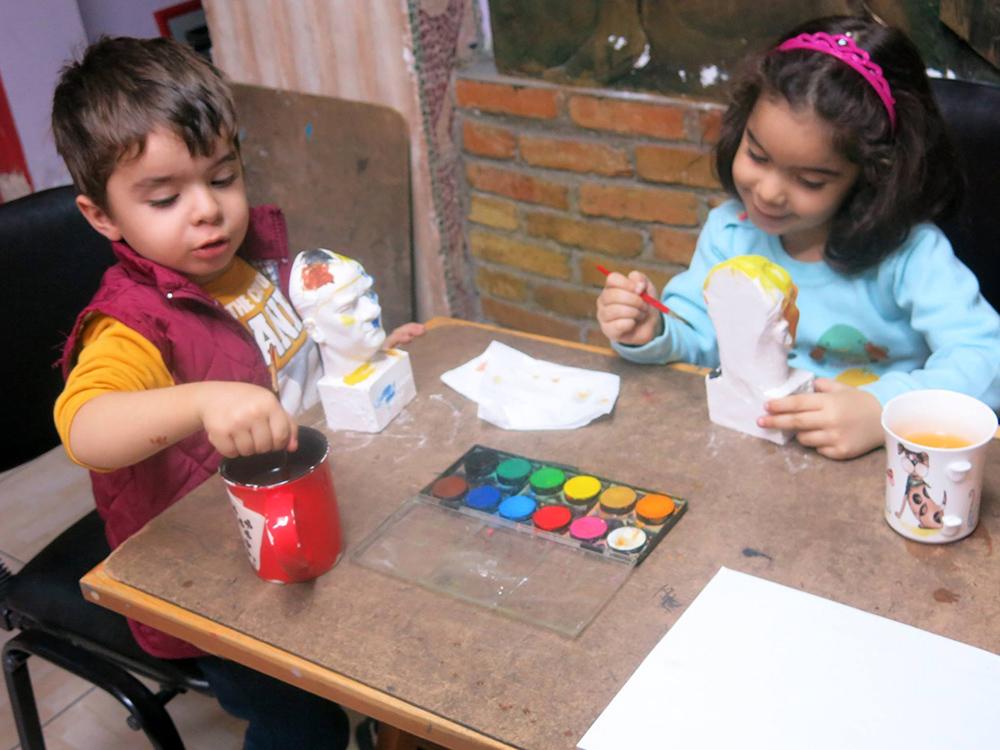 Kayseri Çocuk Sanat Dersleri