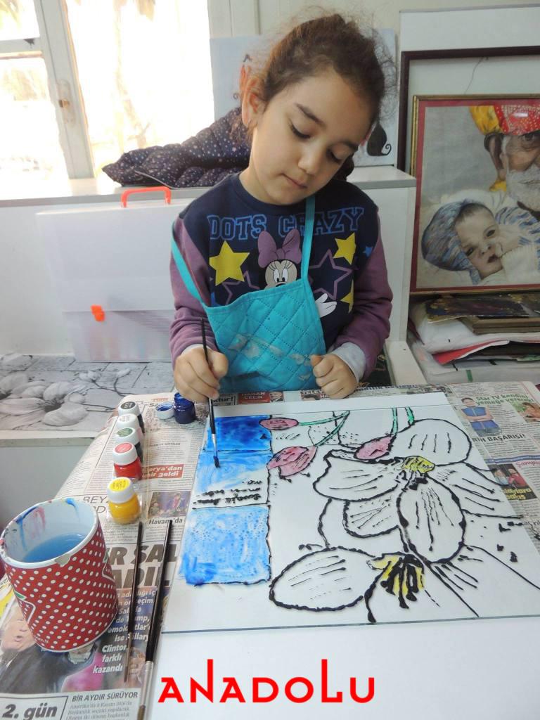 Kayseride Çocuklar İçin Sanat Kursları