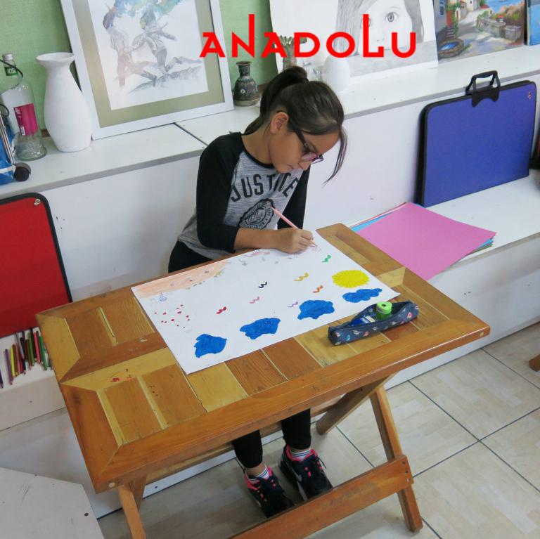 Kayseride Çocuklara Yönelik Özel Resim Eğitimleri