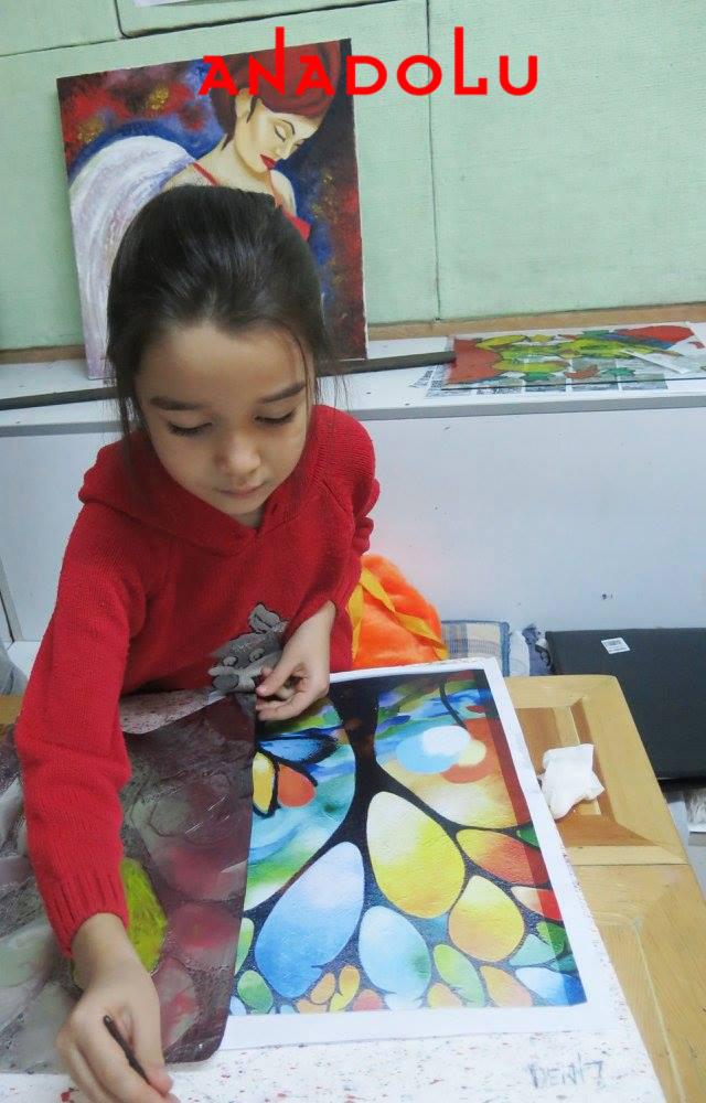 Kayseride Çocuklara Yönelik Resim Atölyeleri