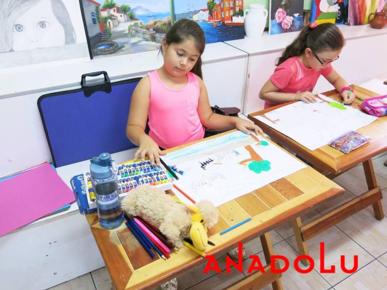 Kayseride Çocuklara Yönelik Pastel Boyama Kursu