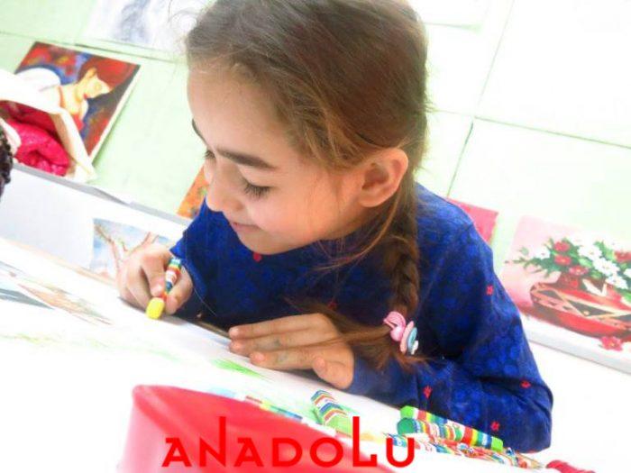 Kayseride Çocuklar İçin Güzel Çizim Eğitimleri