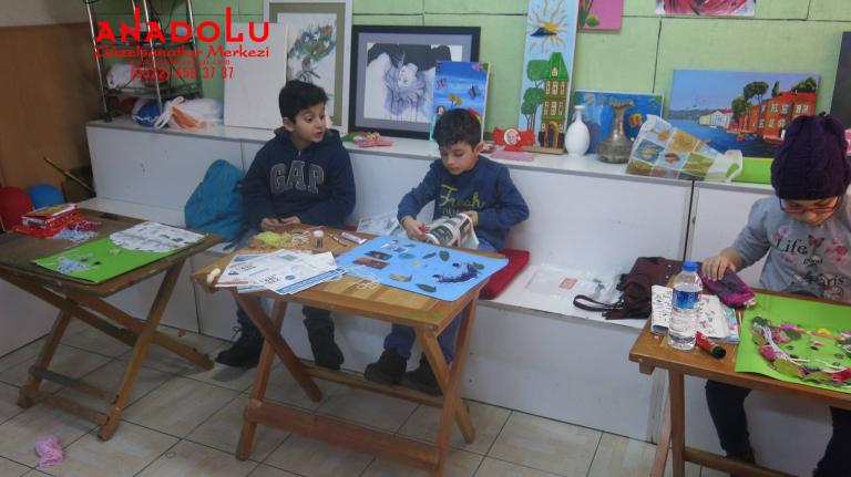 İzmir'de Çocuklar İçin Yağlı Boya Kursları