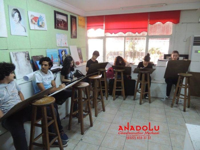 Anadolu Güzel Sanatlar Liselerine Hazırlık Kursları Çukurovada