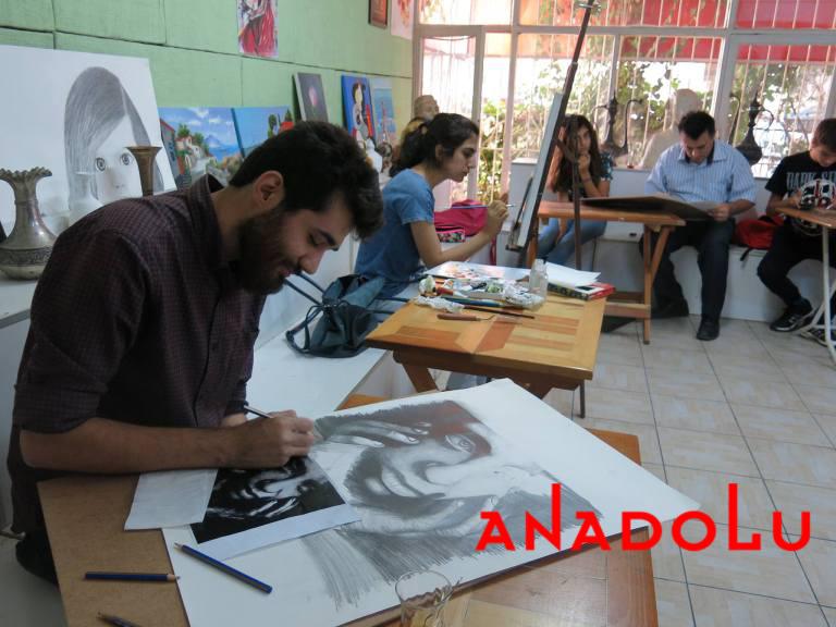 Karakalem Potre Çizimleri Teknik Sınıflar Çukurovada