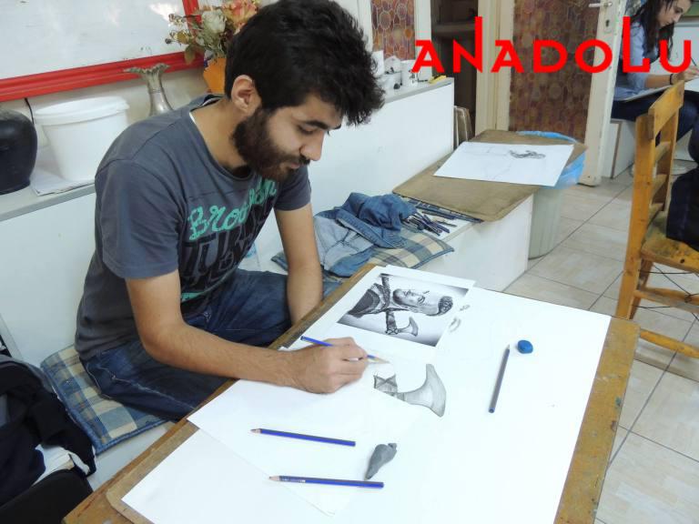 Hobi Karakalem Potre Çizim Dersleri Çukurovada
