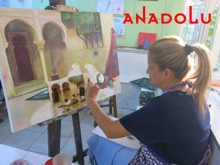 Yağlıboya Manzara Çalışmaları Hobi Grupları Çukurovada