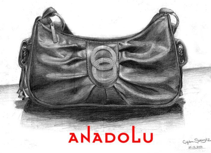 Anadolu Güzel sanatlar Karakalem Çalışma Örnekleri Çukurovada