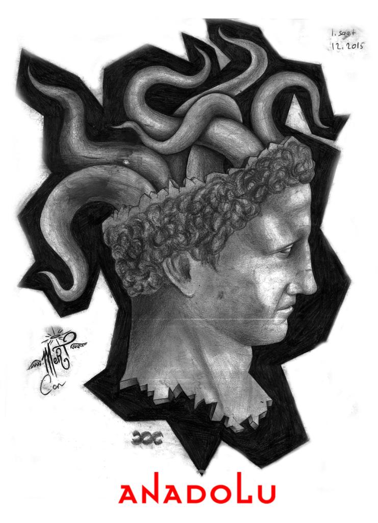 Karakalem Heykel Çizim Örnekleri Çukurovada