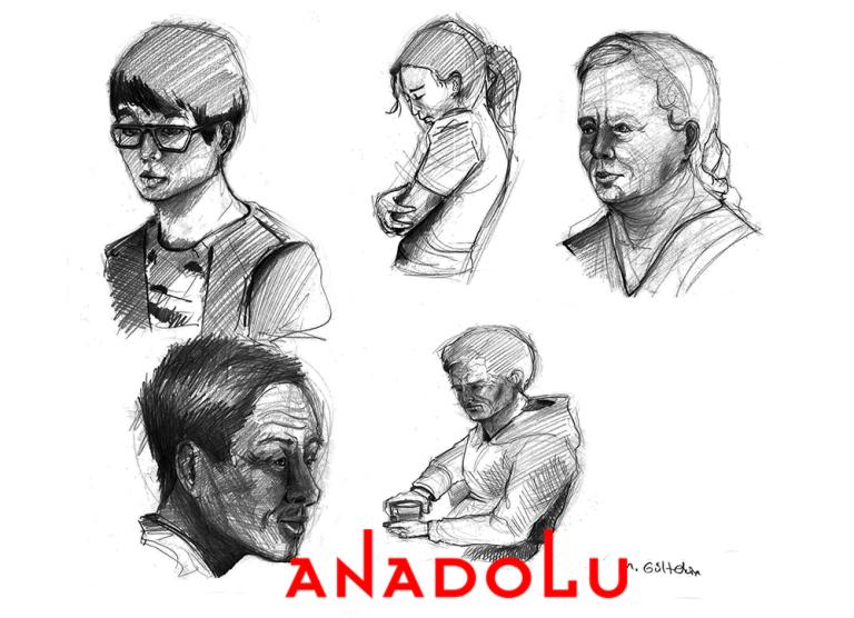 Kayseri Karakalem Portre Çizimleri