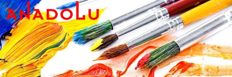Sulu Boya Resim Fırçaları Çukurovada