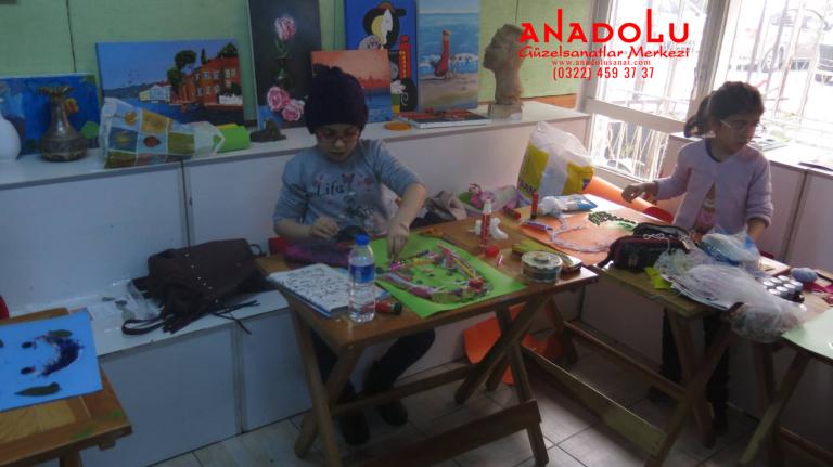 Çocuklar İçin Yetenek Kursları Çukurovada