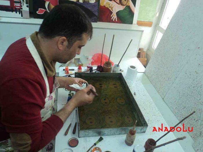 Kayseride Yetişkinler İçin Ebru Eğitimleri
