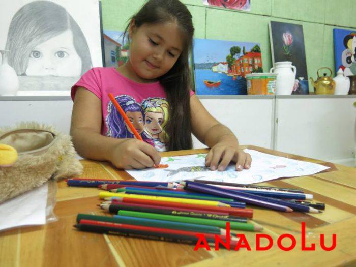 Kayseride Çocuklar İçin Resim Eğitimleri