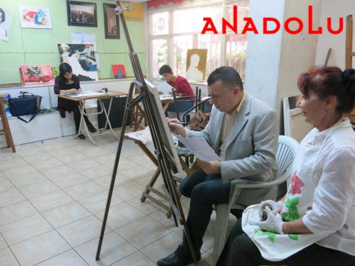Yağlıboya Çizim Dersleri Hobi Grupları Çukurovada
