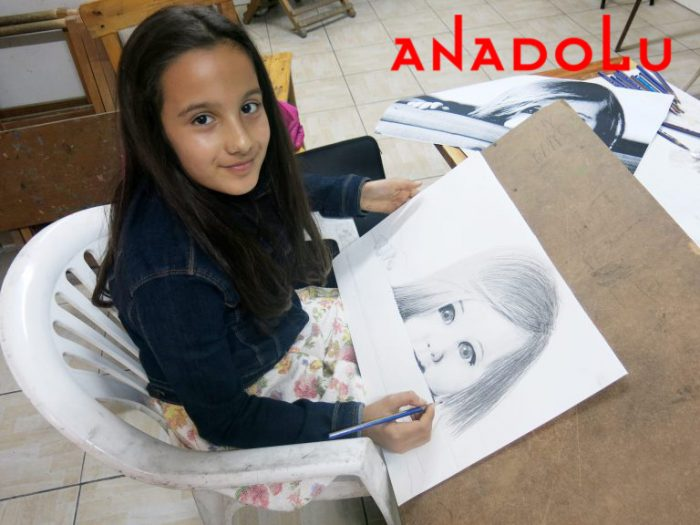 Çocuk Grupları Karakalem Çizim Dersleri Çukurova