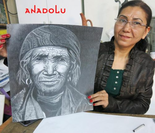 Hobi Karakalem Çizimi Çukurova